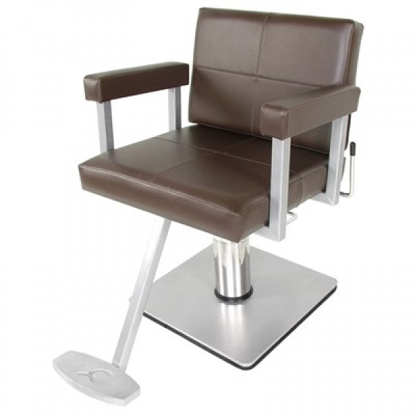695 6710x quarta ap styling chair with 20 20 square base salon and