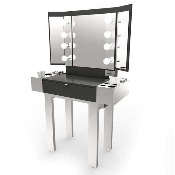 Redman Stainless Steel Makeup Station $2,042.00