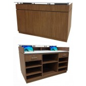 Standing Reception Desk  w/Customer Ledge  $4,279.00