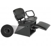 1850L QSE Shampoo Chair W/Kick-out Leg Rest  $639.00