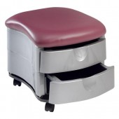 Two Shelf Ottoman Pedi-Cart  $189.00