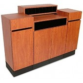 Reve Standing Reception Desk  $1,559.00