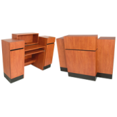 Reve Sitting Reception Desk  $1,719.00