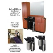 QSE Extra 39hi Wet Booth Unit with Adjust-A-Sink  $8,208.00