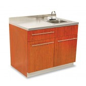 Dispensary Sink Cabinet with Stainless Steel Top  $2,002.00