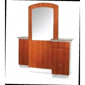 Elliana Double Styling Station  $3,215.00