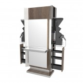 Genesis Low Profile Double Back Lit Mirror Styling Station  $8,293.00