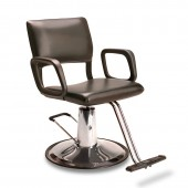Steel Frame Styling Chair on Round Base  $563.00