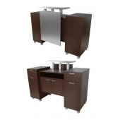Amati Amico Reception Desk  $3,029.00