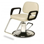 Sassi Hydraulic Styling Chair on Round Base  $593.00