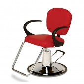 Stiletto Hydraulic Styling Chair on Round Base  $645.00