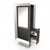 Forty Five Stainless Steel Double Styling Station  $4,917.00