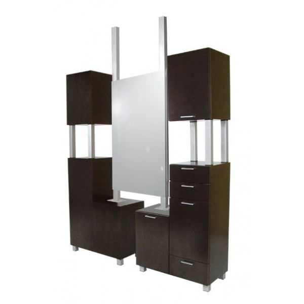 1001 941 66 amati tall styling island am salon and spa for A and m salon equipment