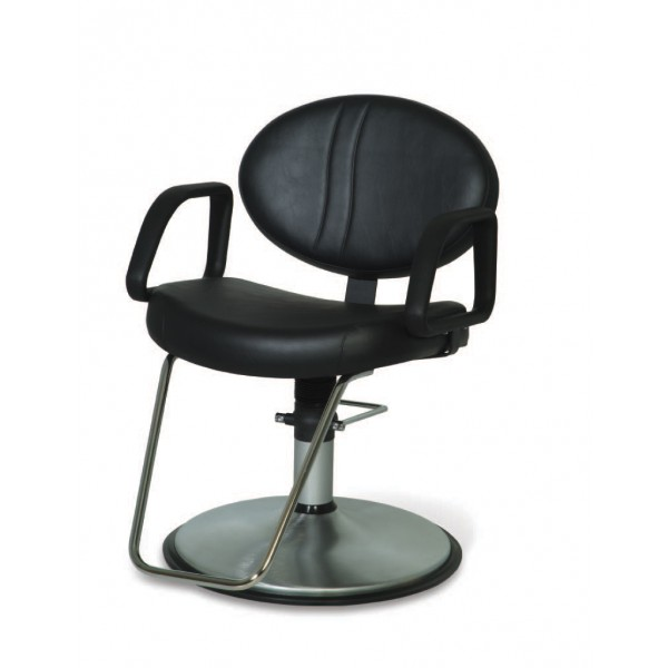 Cl100sc rd12fc calcutta styling chair styling chairs for A m salon equipment