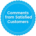 Comments from Satisfied Customers